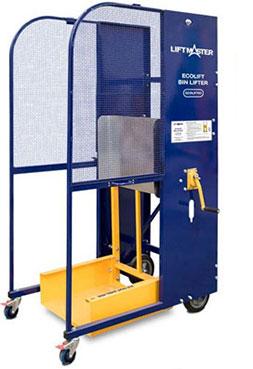 Ecolift bin lifter