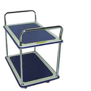 HB220D 2-tiered platform trolley