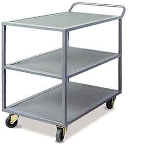 IT3T340 Three tier fully levelled heavy duty trolley