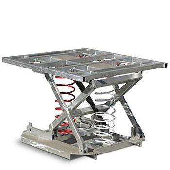 Square Top pallet positioner