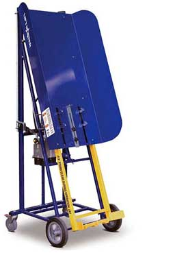 Rugged manual bin lifter