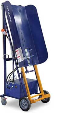 Rugged powered bin lifter