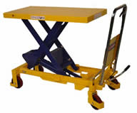 Manual Hydraulic Scissor Lift Tables