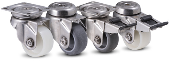 LAG stainless steel castors group
