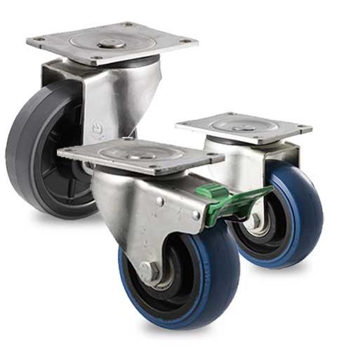 AGV cart castors