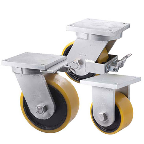 Super heavy duty castors