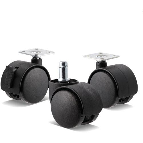 Fallshaw twin wheel castors