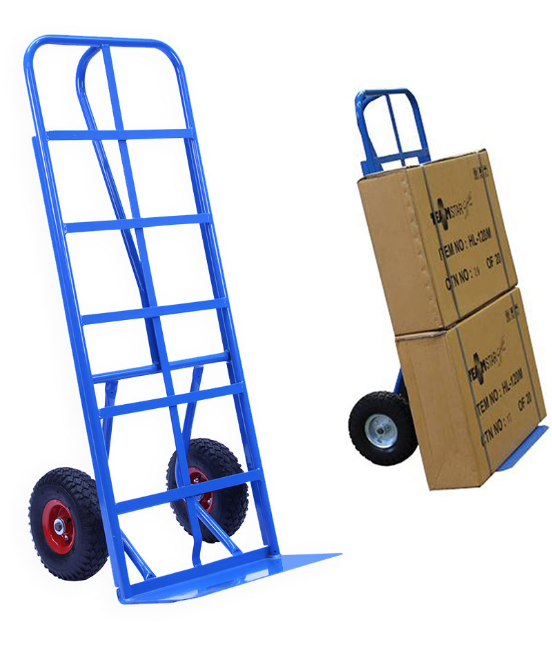 Carton trolley hand truck with 300 kg capacity