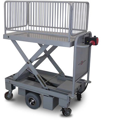 powered scissor lift