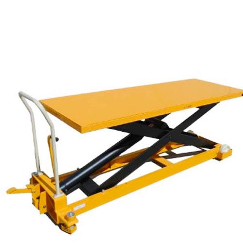 SLM1000XL mobile scissor lift with extra large platform