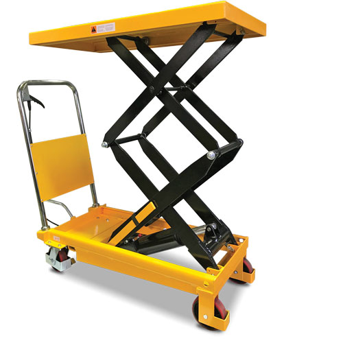SLM350 scissor lift trolley