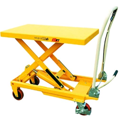 500kg capacity manual-assist scissor lift (SLM500)