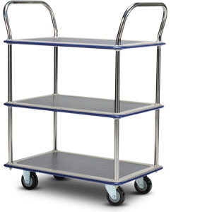 IT170 3-tiered platform trolley