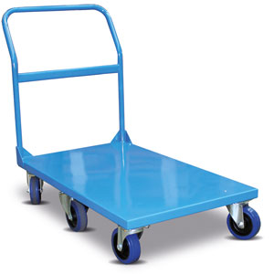 IT520 Single tier heavy duty platform trolley (six castors)