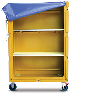 Laundry linen poly trolley