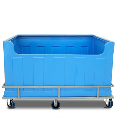 Mobile poly tub - large
