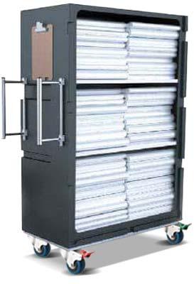 POLYTROLLEY1580 laundry linen trolley