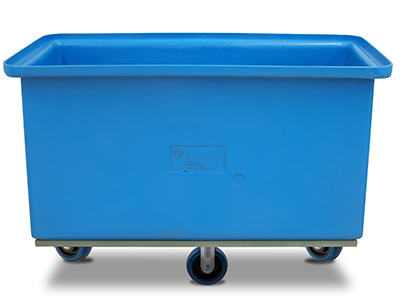 Medium poly tub on wheels