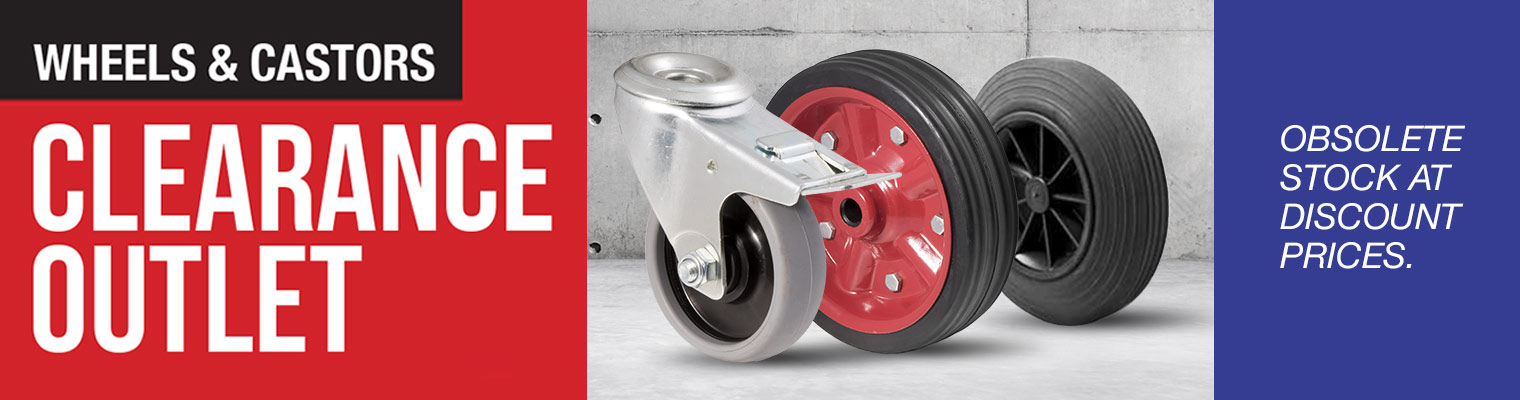 Wheels and castors clearance outlet