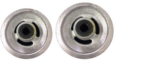 Cast iron V Groove wheels group